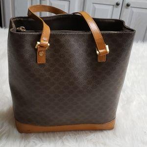 Celine Macadam Pattern Tote Bag